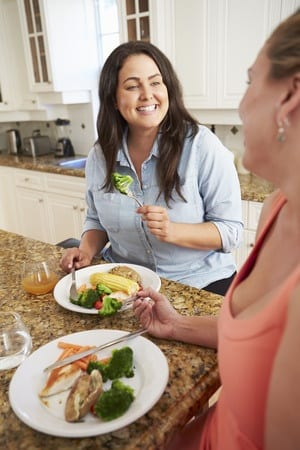 Focus more on eating healthy food instead of counting calories