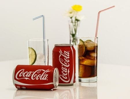 Cold and carbonated drinks