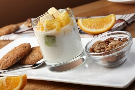 Yoghurts and other fermented milk products